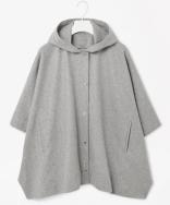 Hooded Cape Jacket £125