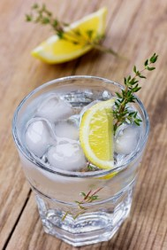 As a great source of vitamin C, half a lemon squeezed into water will boost your immune system, give your digestion a kick start and helps flush out the toxins in your body by enhancing enzyme function, stimulating your liver. It also keeps hunger at bay, gives you an energy boost and detoxes the blood so your skin stays healthy and blemish-free-what more could you ask for?!