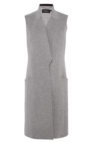 Tailored Sleeveless Coat, £235 Karen Millen
