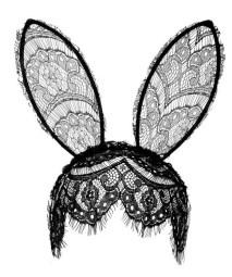 Veil Bunny Ears, £12, Topshop