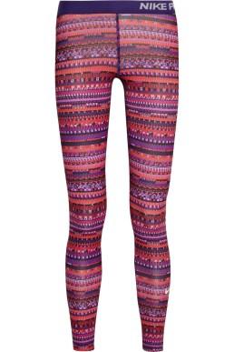 Pro Warm 8 Printed Stretch-Jersey Leggings, £63 Nike