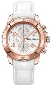 Glam & Soul Womens Watch in Glam Chrono, £275 Thomas Sabo