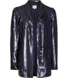 Sequin Jacket, £130 Reiss