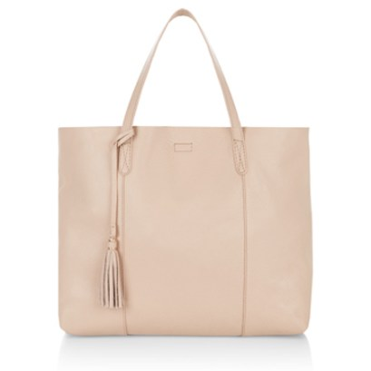 Leather Slouchy Shopper Bag, £65 Accessorize