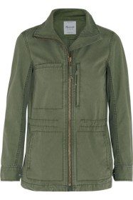 Fleet Brushed-Cotton Jacket, £125 Madewell
