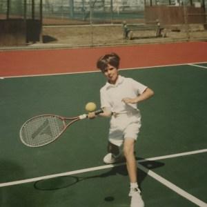 Ricky as a child