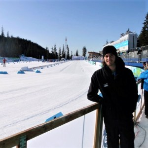 Working at the Winter Olympics