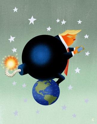 Cowles Trump Bomb