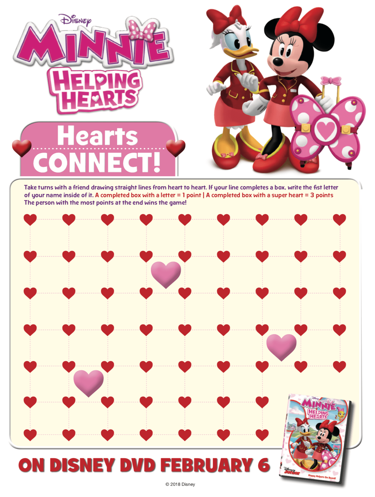 Minnie Mouse Printable Worksheet