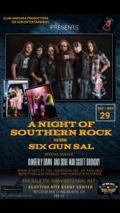 Biker Run e Southern Rock Music Concert arrecadam fundos para os veteranos