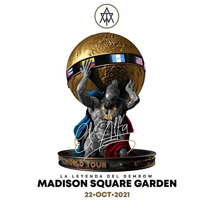 """El Rey del Dembow"""" El Alfa """"El Rey del Dembow"""" anunciou seu próximo show no Madison Square Garden"""