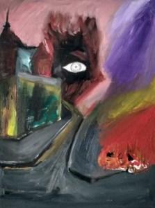Artista transforma dor em arte