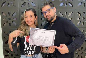 Bruno Rupf paixão por cabelos e pela carreira premiada