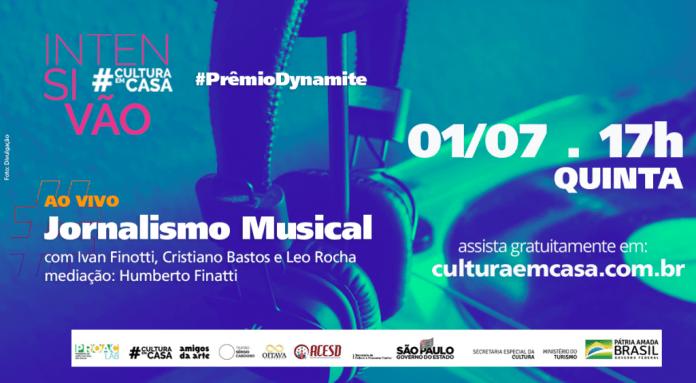Prêmio Dynamite faz palestra sobre jornalismo musical