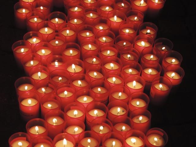 candles-pray-holy public domain image Christensen Ritual Pantheon