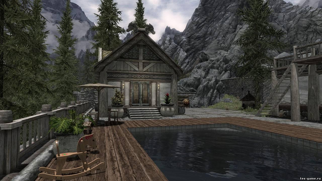 Mistä voin rakentaa talon Skyrimissä?