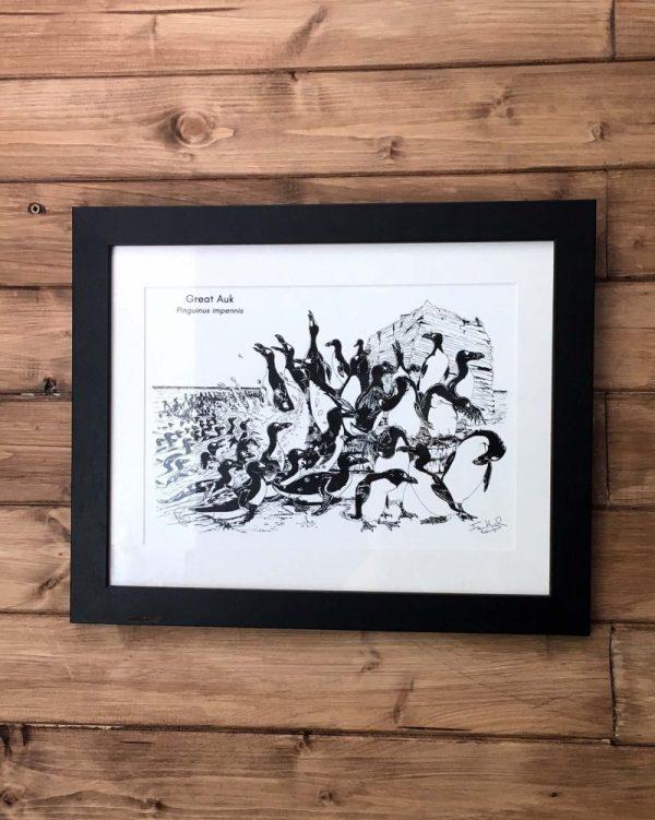 Great Auk Art Print
