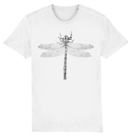 Dragonfly T-shirt White
