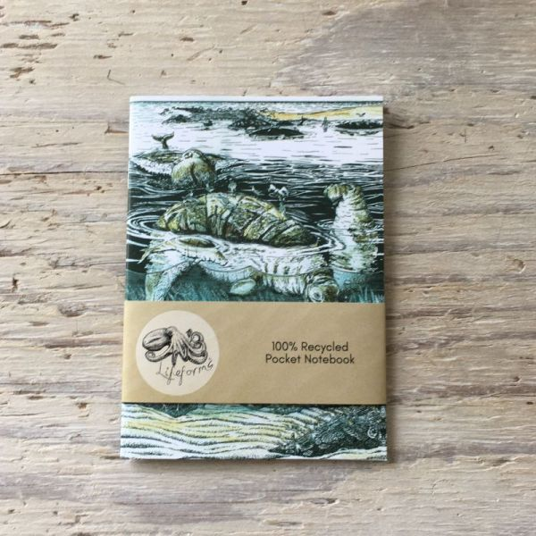 Steller's Sea cow pocket notebook
