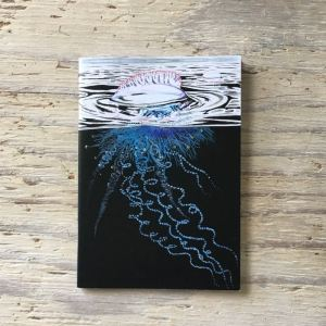 Portuguese man o'war pocket notebook