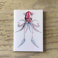 flying squid pocket notebook