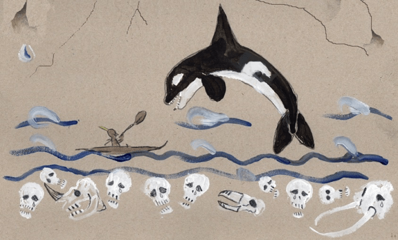 a tribute to orcas