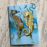 Spiny Seahorse Pocket Notebook