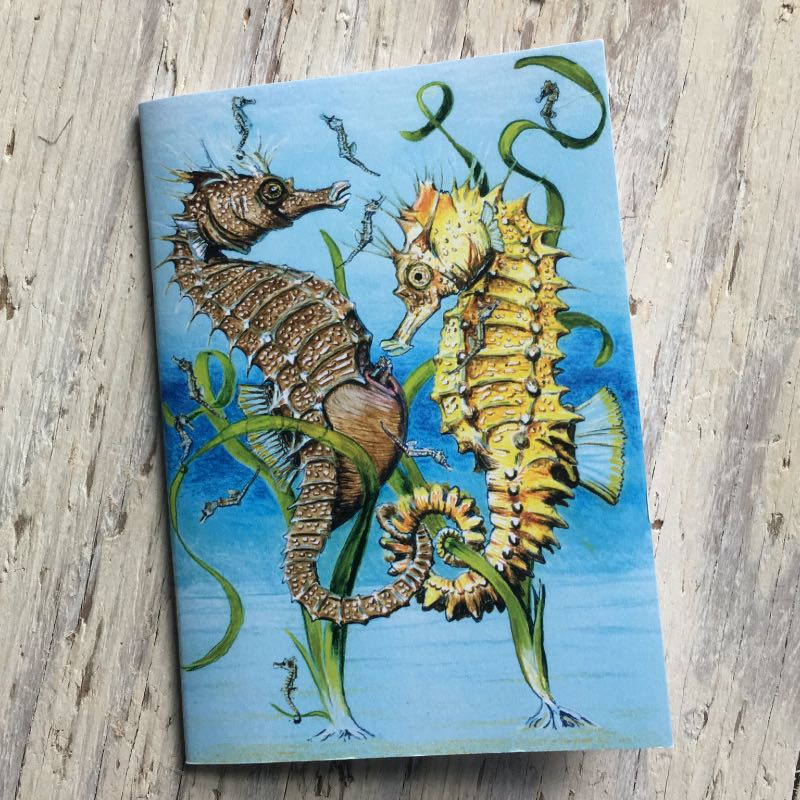Spiny Seahorse Pocket Notebook