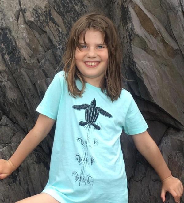 children's turtle t-shirt