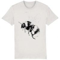 Bumblebee t-shirt natural white