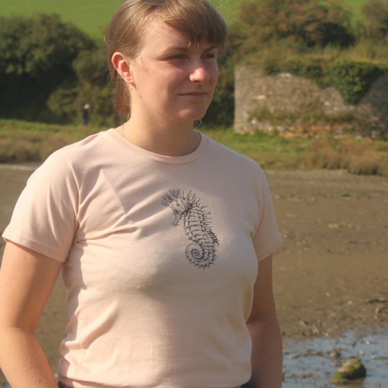 womens seahorse t-shirt
