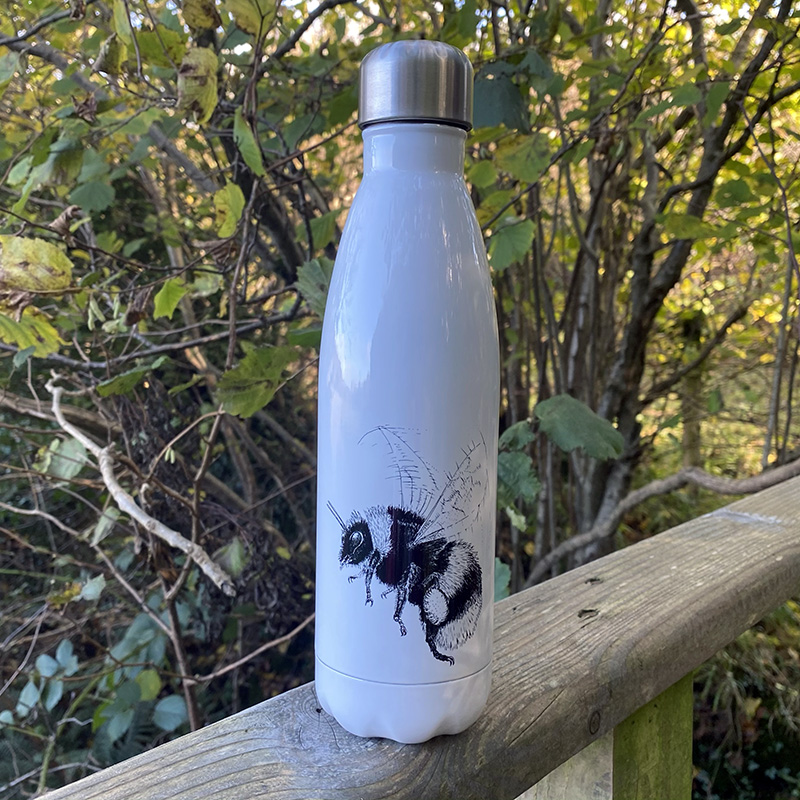 Bumble bee stainless steel water bottle