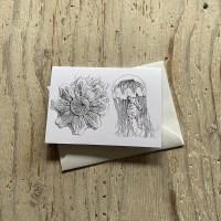 Lions Mane Jellyfish Greetings Card