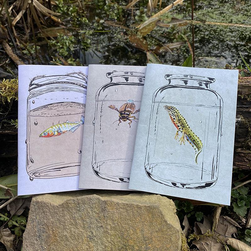 Notebooks-Lifeforms-Art