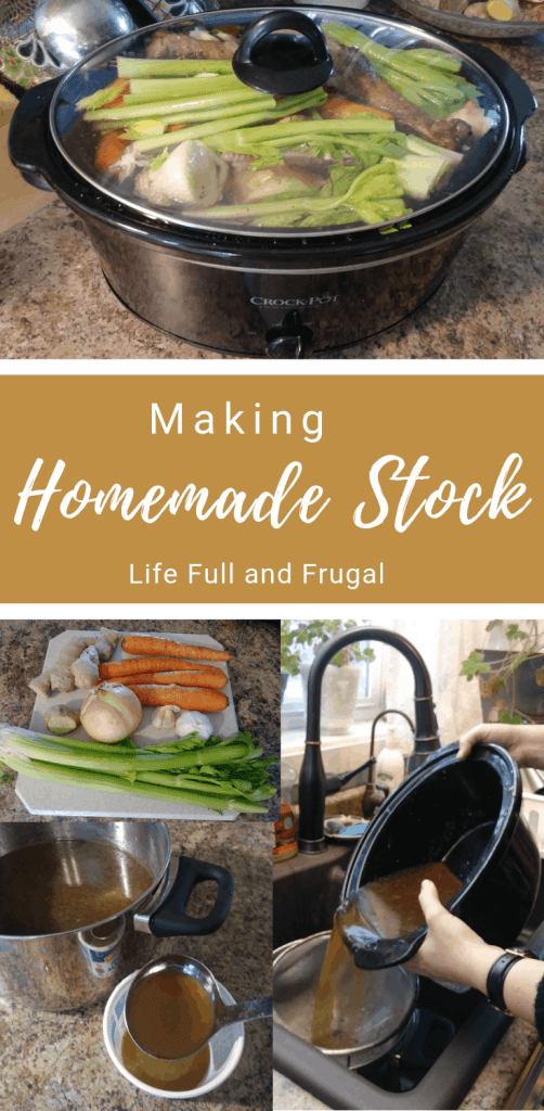 Making Homemade Stock Life full and Frugal