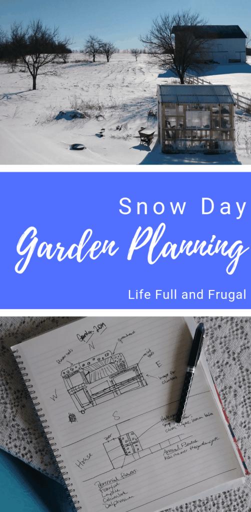Snow day garden planning