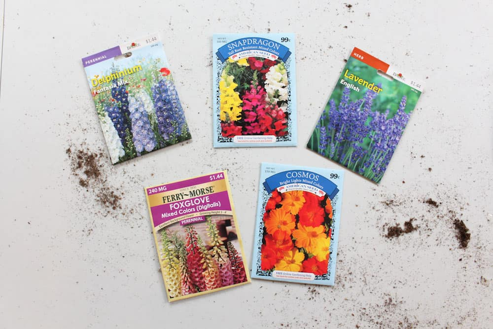 simple steps to starting seeds indoors life full and frugal seed packs