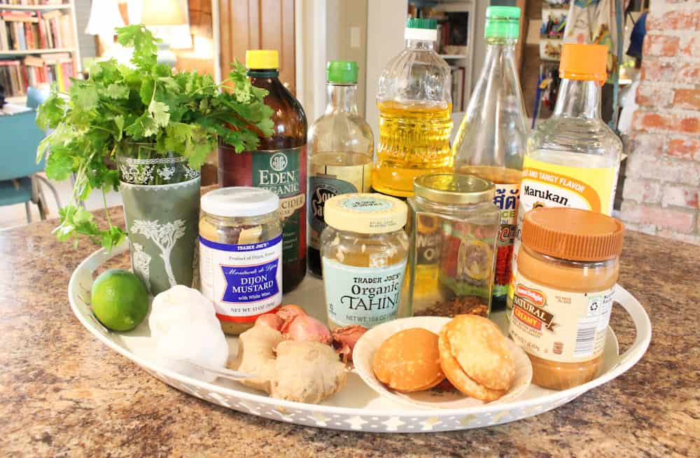 summertime salad dressing ingredients life full and frugal