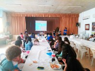 Almuerzo en el Local Social de la AAVV de Tallante