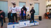 Podio de la carrera, Alberto Plazas conquistó el IV Trail La Aljorra, Carrera popular del almendro y el garbancillo de Tallante