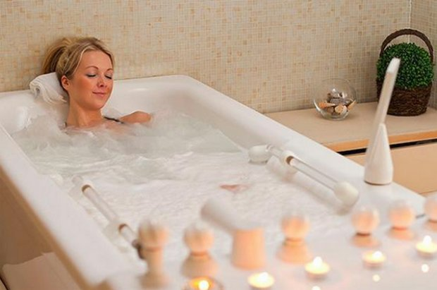 ar galima hipertenzijai naudoti radono vonias