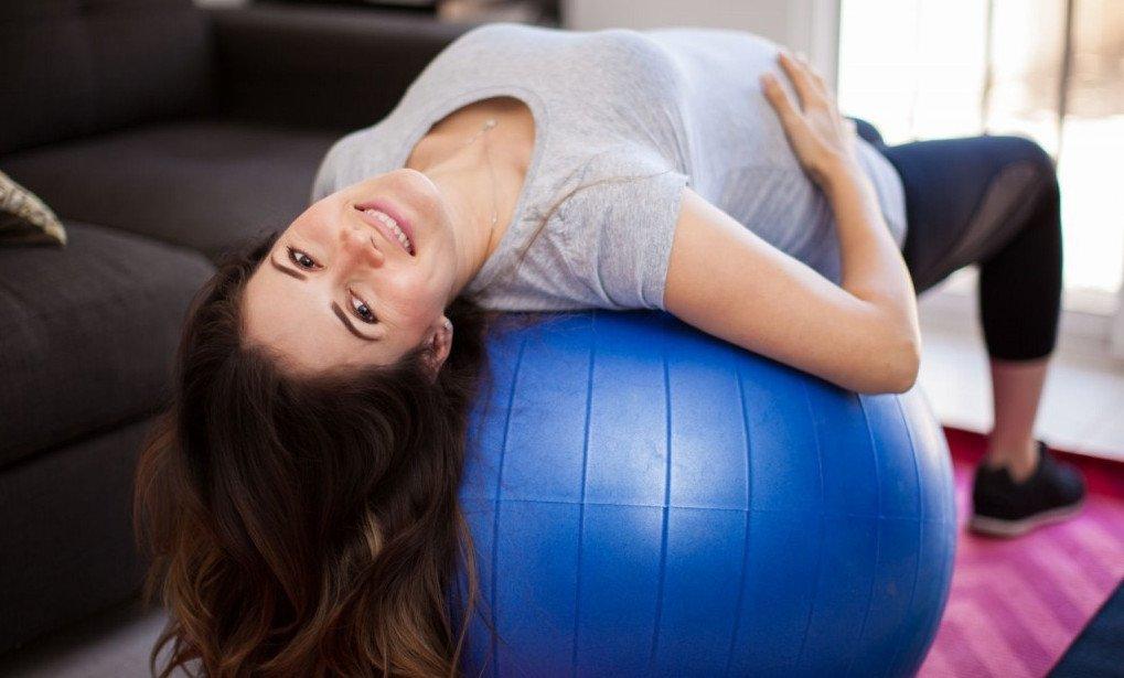 Гимнастический мяч для беременных