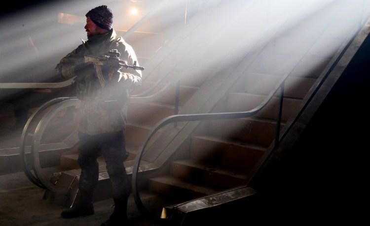 """съемки первого украинского фильма о войне """"Киборги"""" режиссер Ахтем Сеитаблаев"""