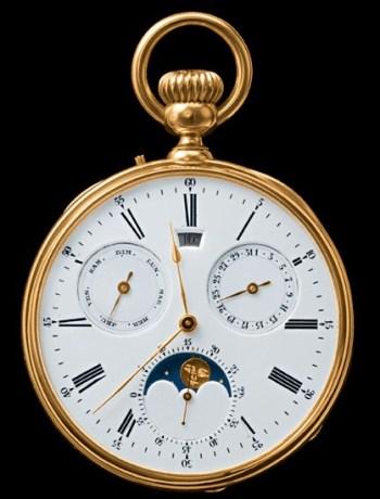 Breguet, карманные часы Breguet, лунный календарь на часах