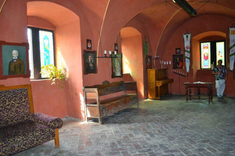 Интерьеры, замок Шенборнов