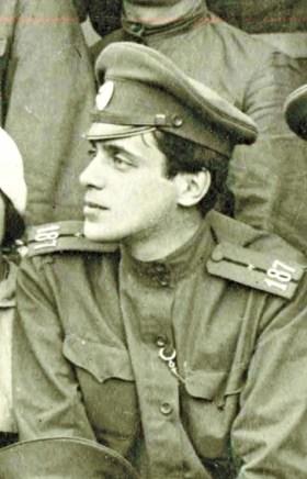 Сергей Эфрон. Первая мировая война
