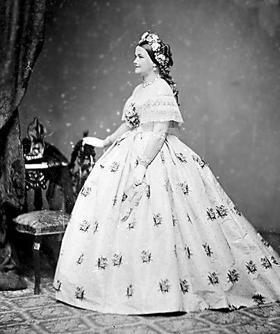Жена президента - Мэри Тодд Линкольн