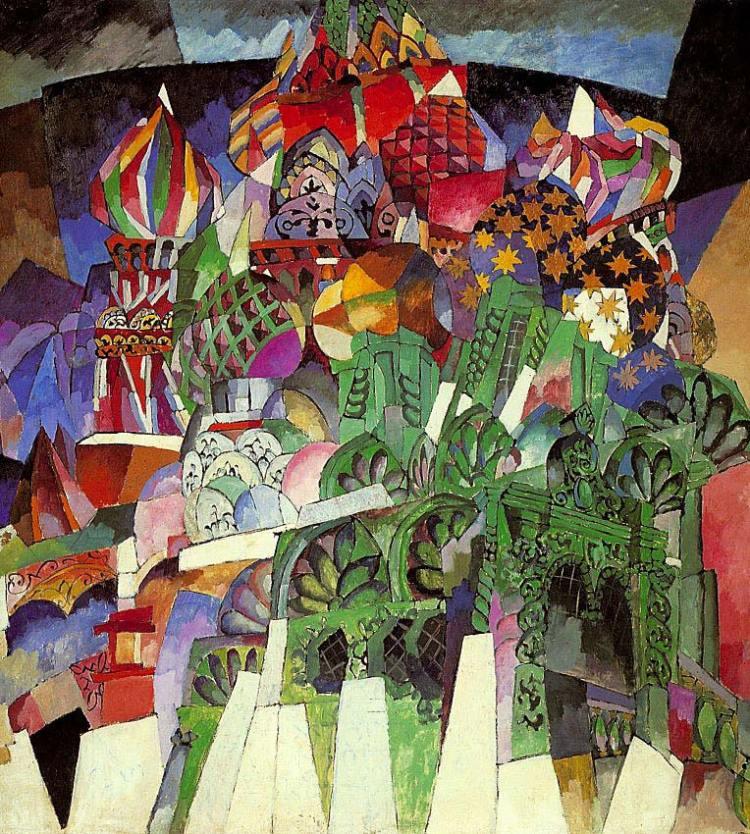 Храм Василия Блаженного, Лентулов, Аристарх Лентулов, живопись