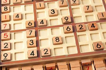 Судоку - магический квадрат для борьбы с Альцгеймером