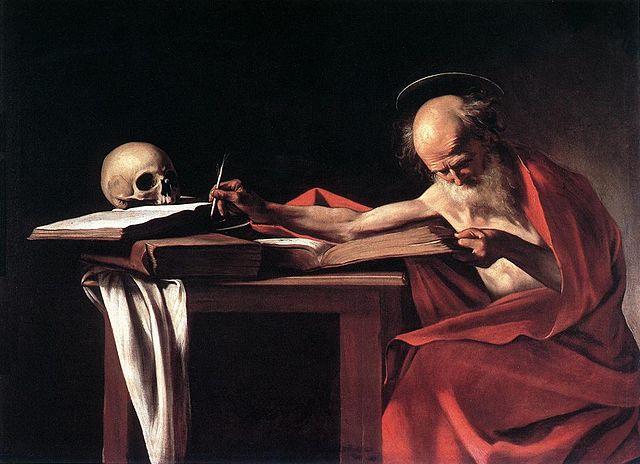 святой Иероним, блаженный Иероним, Караваджо